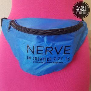 NERVE Blue Belted Bag Fanny Pack